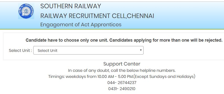 Southern Railway Recruitment Required 3529 Apprentice Apply