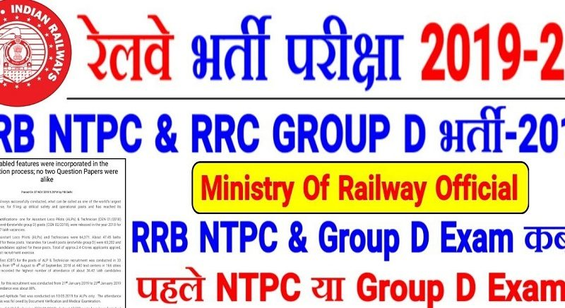 RRB Group D Admit Card Railway Released Date