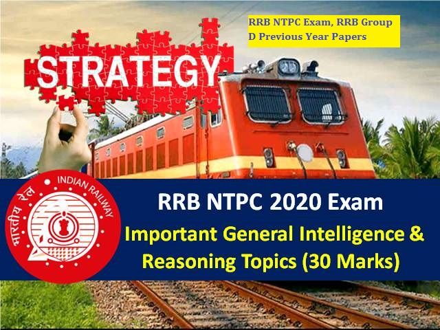 RRB NTPC Exam, RRB Group D Previous Year Papers