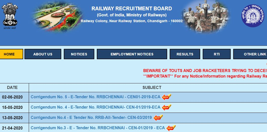 Railway Released RRB NTPC Admit Card 2020
