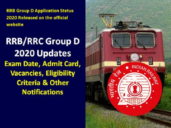 RRB Group D Application Status 2020 Released