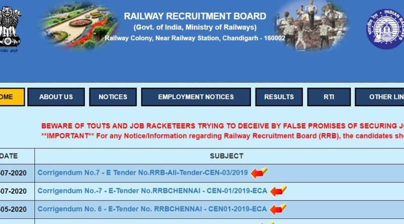 RRB NTPC Exam Date 2020 Released Date Announced Soon