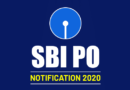 SBI PO Recruitment 2020 Online Form