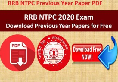 RRB NTPC Previous Year Paper PDF